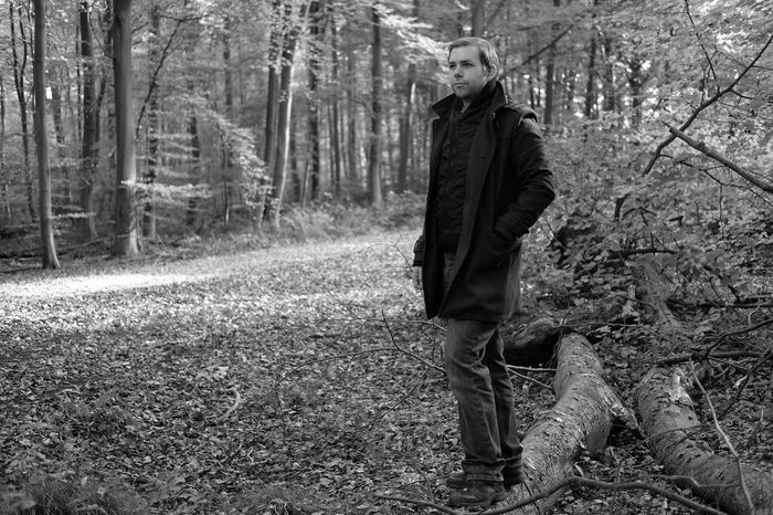 Forest One Person Tree Standing Nature Casual Clothing Day Young Adult Leisure Activity Outdoors Full Length Portrait Lifestyles Real People Adult Adults Only People Blackandwhite Lookatme Posing Blackandwhite Photography Forest Photography Wood Tree Young Men