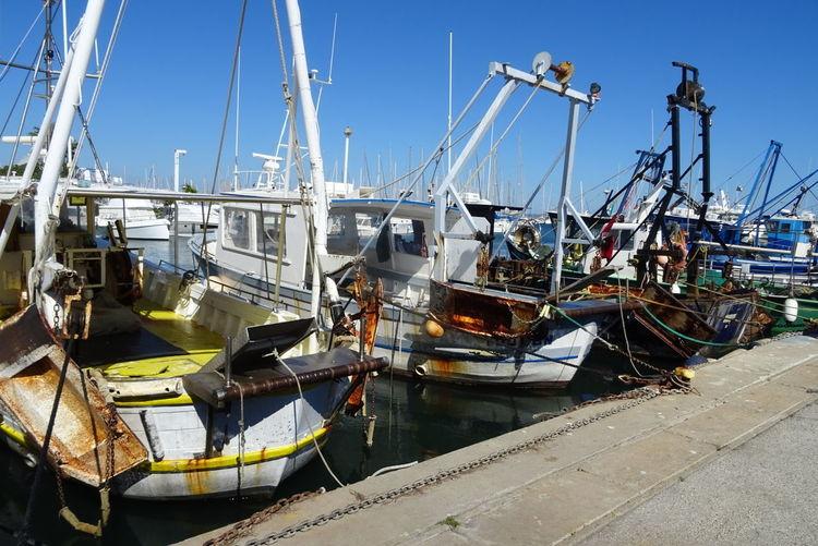 Bateau Bateau ❤️ Mer Blue Pêcheur 👣🐟 Pêcheur Peche