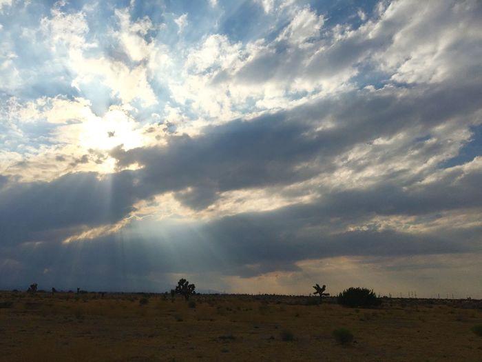 Wow😱 Landscape Beauty In Nature Sunbeam Sky Cloudscape Dramatic Sky Sun Rural Scene Day Weather Atmospheric Mood