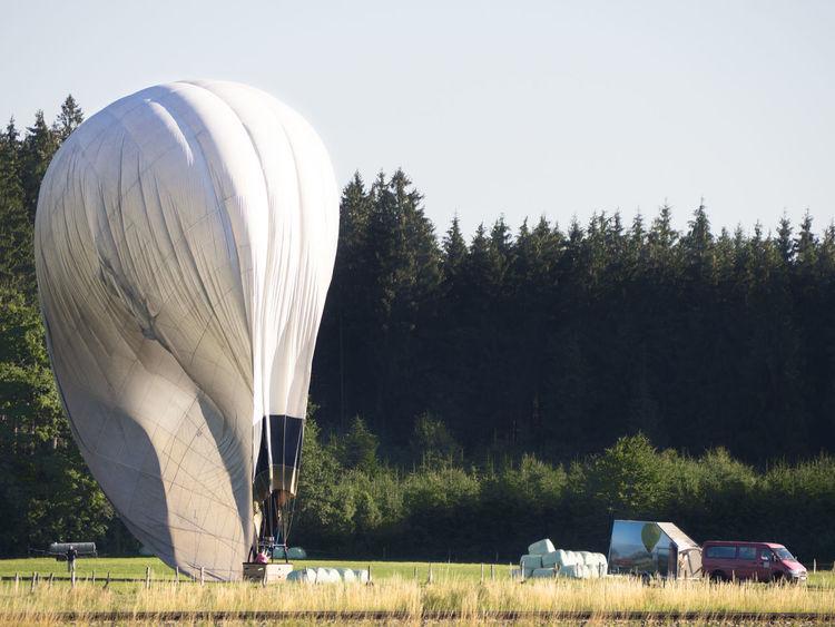 hot air balloon landing Baloon Hot Air Balloons Hot-air Balloon Landing