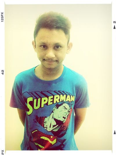 superman say good night :)