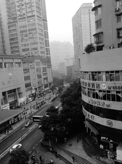 My Daily Commute Asian Culture RobertEkbergTallberg Blackandwhite Chongqing RePicture Ageing