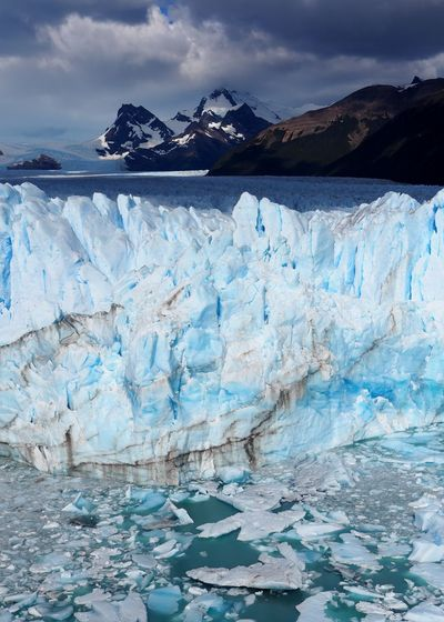 Perito Moreno Glaciar in Los Glaciares National Park, Argentinian Patagonia Cold Glacial Glacier Ice Landscape Melting Nature First Eyeem Photo