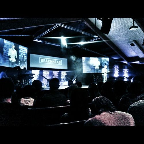epic easter service this. Morning!!!! :) Beachhead Centralcc Easter Stagedesign sunday church stcatharines