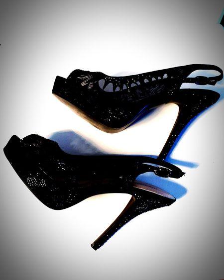 Two Is Better Than One Two Is Better Than One. Photo Photography Photooftheday Photographer Photos Around You High Heels High Heels ❤ Black Glittering Swarovski BLACK HIGH HEELS
