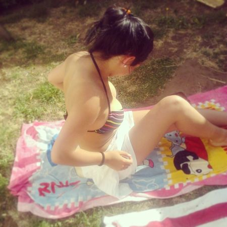 tomando sol Relaxing Enjoying Life Sunny Day Summer ☀