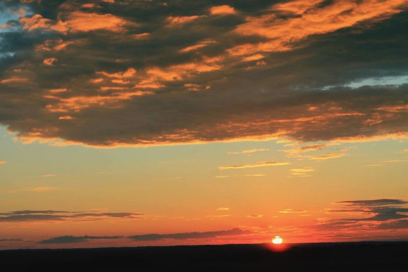 Sunset 😍 Sunset Alberta First Eyeem Photo