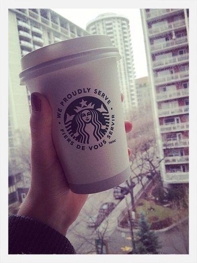 City life ❤️ Starbucks