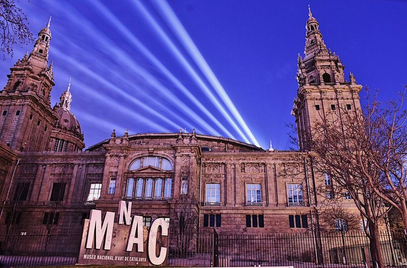 Exciting Barcelona... Architecture Building Exterior Travel Destinations Outdoors Night EyeEmNewHere Long Exposure Nightphotography City At Night Illuminated MNAC Museum Barcelonainspira Catalonia Exciting Day!!! Barcelona, Spain