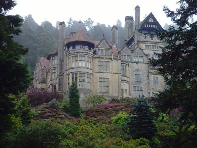 Architecture Building Exterior Built Structure Cragside Day Exterior Green Color Growth Historic History Lush Foliage Mountain National Trust Nature No People Outdoors Plant Residential Building Residential District Residential Structure Sky The Past Tourism Travel Destinations Tree