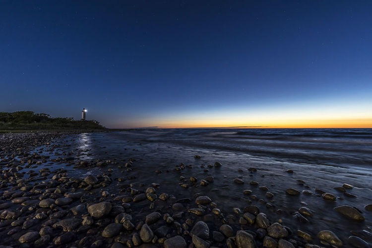 Långe Erik Architecture Astronomy Beach Building Exterior Built Structure Guidance Land Lighthouse Nature Night No People Pebble Rock Rock - Object Scenics - Nature Sea Sky Solid Star - Space Tower Travel Destinations Water Öland
