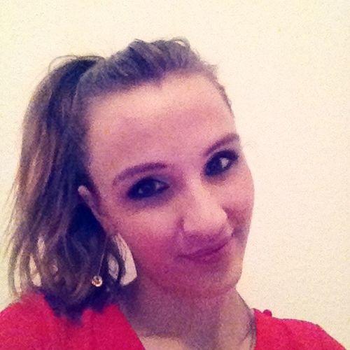 Leila Me SmileAllDay Brunette Girl Reddress Budapestlife