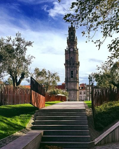 #Porto #cityscape #garden #nature #clerigostower®