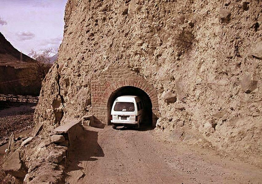 Northern Area , Pakistan. Long Dark Tunnel . EyeEm Nature Lover Eye4photography  Hello World Traveling