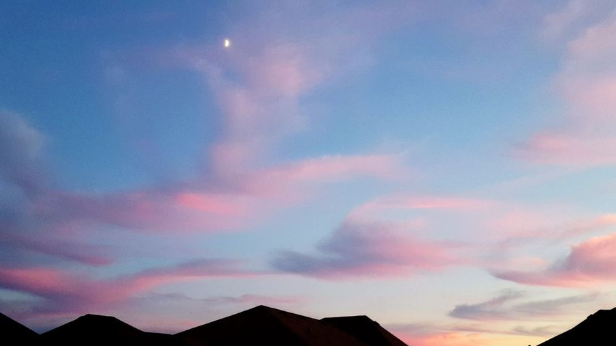 Abstract Sky Sky Porn Pastel Pastel Colors Pastel Clouds Pastel Sky Pink Clouds Purple Clouds Sunset Houses Moon Newmarket Ontario Canada Cloudsporn Clouds Photography Beautiful Nature Scenery Views Earth Lovely