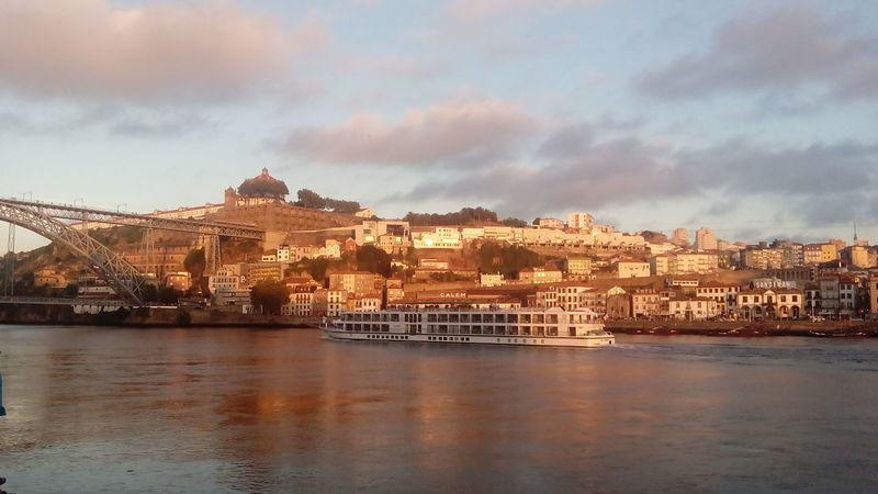 Rio Douro Porto Portugal 🇵🇹 Sunset Ponte Luis I Day Water