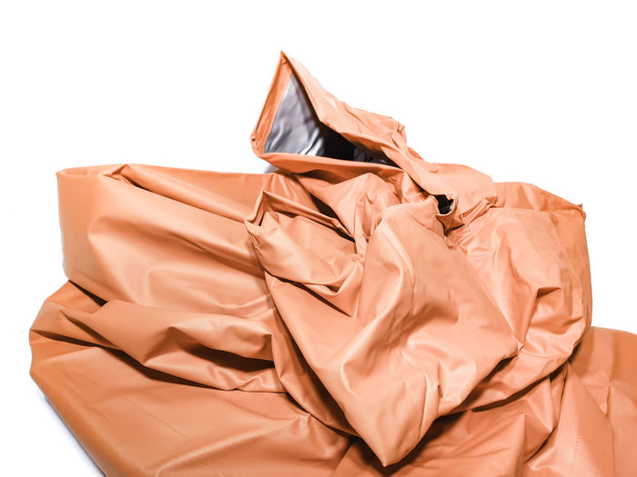 White Background Studio Shot No People Indoors  Cut Out Brown Bag Close-up Crumpled Still Life Wrinkled Clothing Textile Fashion Pattern Paper Single Object Package Celebration Plastic Menswear Clean