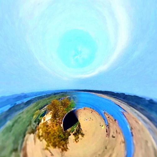 Curves Abstract EyeEm Nature Lover Rollworld Planet Landscape Sea And Sky Blue Beach