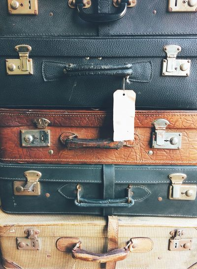 Vintage suitcases Vintage Vintage Suitcases Suitcase Luggage Variation Metal Stack Still Life Backgrounds Old-fashioned Travel No People Pattern The Traveler - 2018 EyeEm Awards The Traveler - 2018 EyeEm Awards The Traveler - 2018 EyeEm Awards