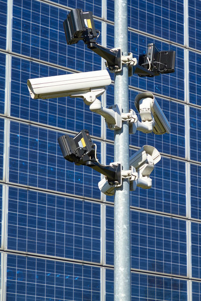 Security cameras Camera Security Alternative Energy Blue Close-up Day Electricity  Environment Environmental Conservation Fuel And Power Generation Industry Low Angle View Metal Nature No People Power Supply Renewable Energy Security Camera Sky Solar Energy Solar Panel Sunlight Technology