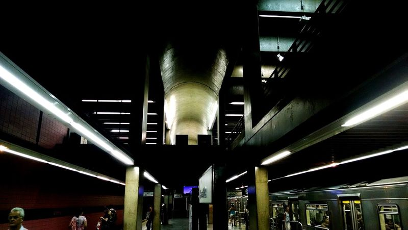 Subway Station Saopaulocity Brazil Brasil2015 Metropolitan