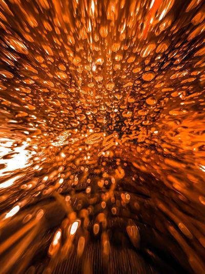 Full frame shot of illuminated firework display at night