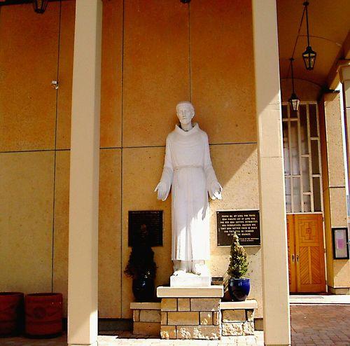 Saint Francis Of Assisi Humble Statue Catholic Make Me An Intrument Of Peace