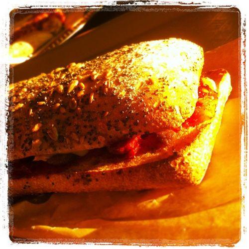 Un bon petit ´Ricain pour terminer avant de rentrer!! Miam Dominospizza Sandwich
