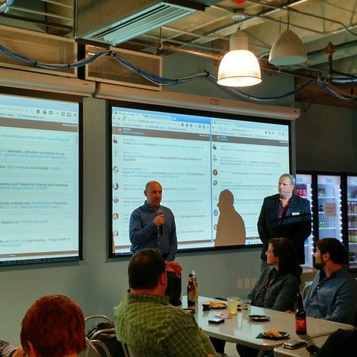 At the @boxhq @techsoup @twilio 15NTCHowdyParty with @livestrong leaders and others Nptech implementers at nonprofits