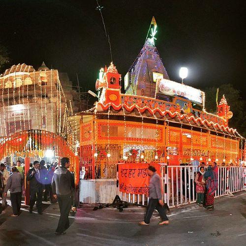 Har Har MahadevGwalior Achleshwar LordShiva Mandir Temple Iphone6 Nightview MahaShivRatri Clickforlike Bulleteers Indiaclicks Awesomeness
