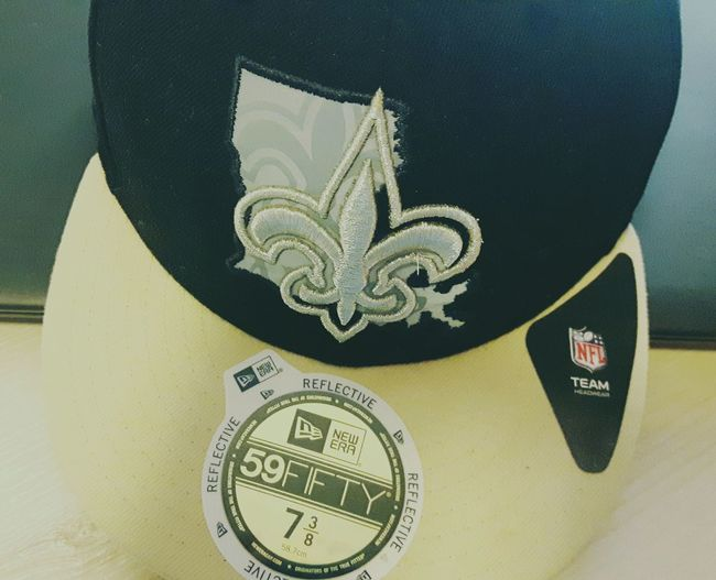 Saints Gosaints! Indoors  Close-up Day Texas Football NFL Football NFL Experience Cap