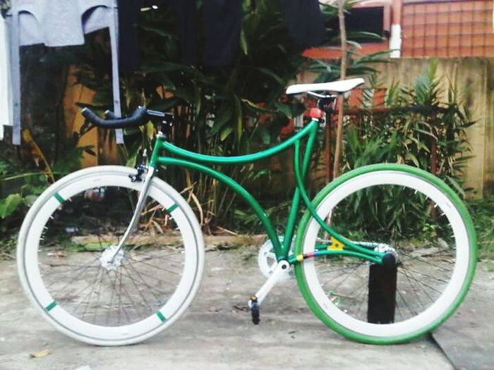 Bicycle Transportation Parking No People Custombike Custommade Steel Ownstyle Own Collections Hobbies Love Cycle