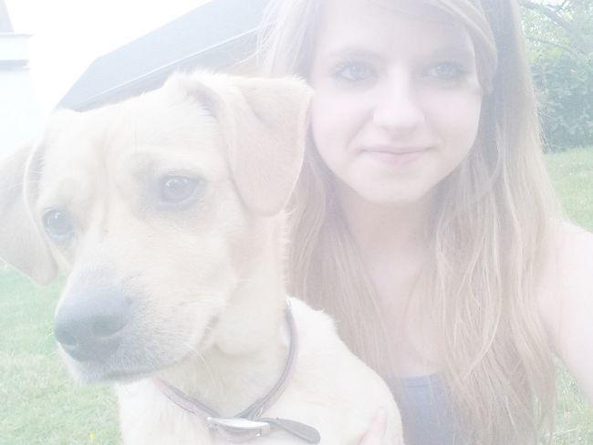 My Dog Luna Love She ♡ Hihu Nice Weather Blueeyes Heart