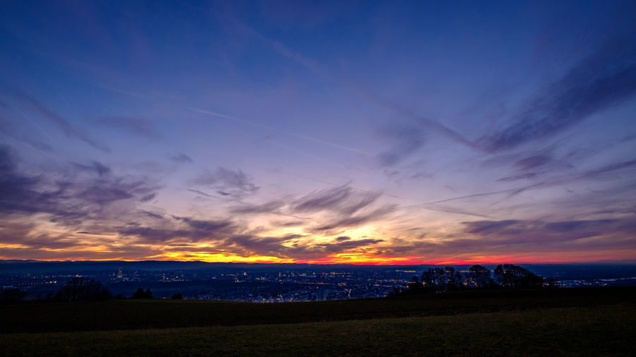 Sunset Baden-Württemberg  Deutschland Fuji Germany Sonnenuntergang Südbaden Tüllinger X-t2 Sundown Sunset Sky Cloud - Sky Scenics - Nature Beauty In Nature Tranquil Scene Nature Tranquility Water No People Outdoors Landscape