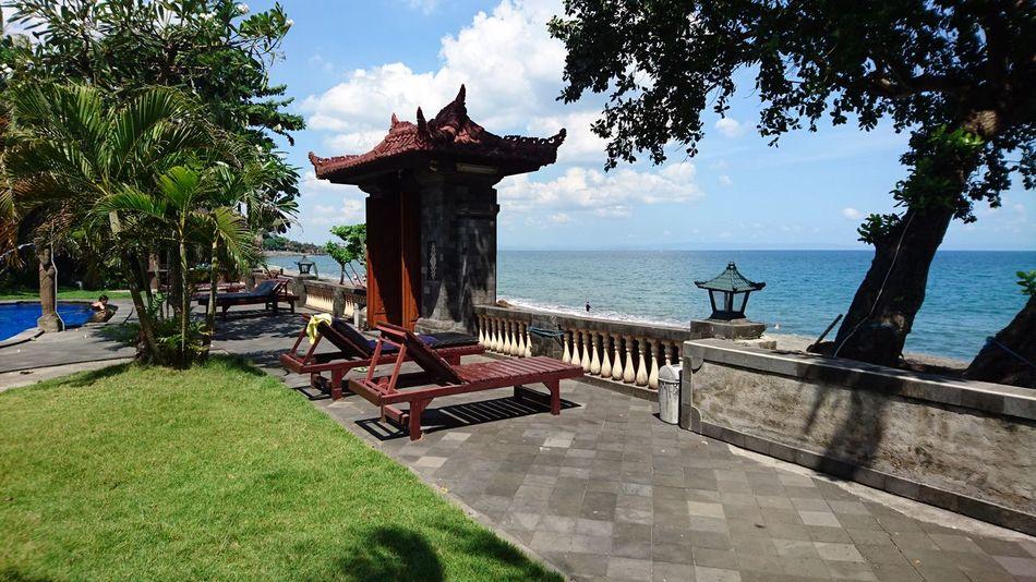 Lombok Indonesia INDONESIA XperiaZ5 Beach Beauty In Nature Hotel Gate