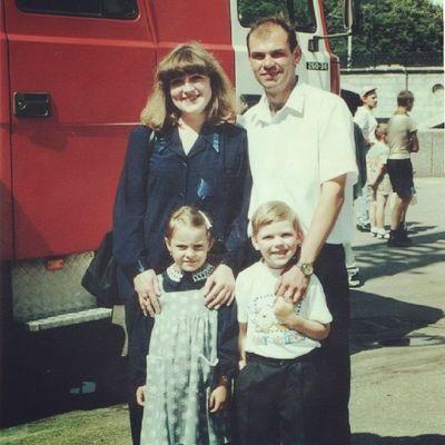 Мама, папа, сестра и я))