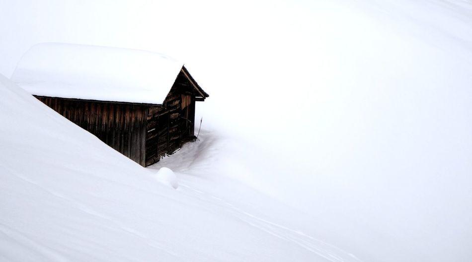Austria Barn Built Structure Cold Cold Temperature House Österreich Warth White Winter Showcase March