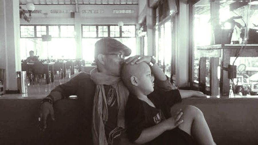 Like father Like son Son Two Is Better Than One Kissing My Baby Father & Son Survival Magelang Cafe Home Love