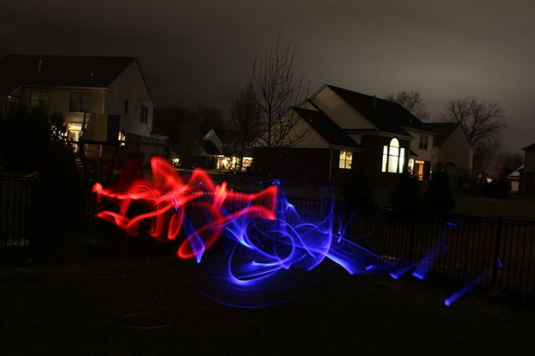 Lights Lighttrails Like Follow Michigan Macomb Blue Red Starwars Photography