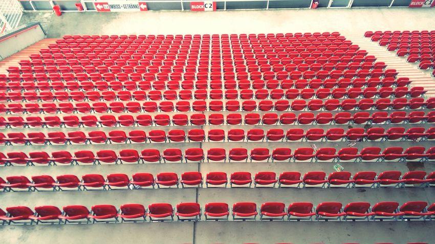 Empty Seats at Alte Försterei