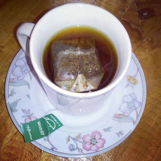 Morning Tea everyone! Westcliff Tea Pfefferminze Detox