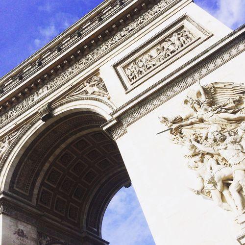 Paris Architecture L'arc De Triomphe