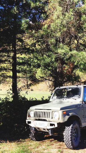 Marradi Toscana Military Offroad Samurai Suzuki Land Vehicle Transportation Mode Of Transport Nature First Eyeem Photo