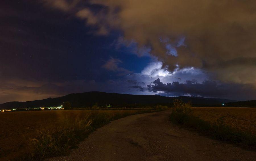 Storm Night No Edit/no Filter Landscape