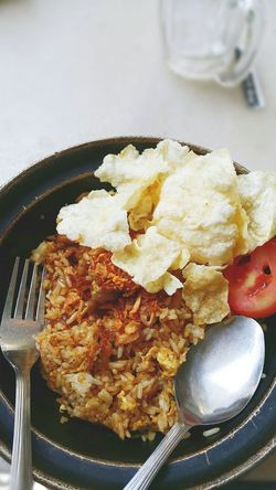Nasi Goreng Fried Rice Food INDONESIA Lunch Beef Fried Rice Yummy Food