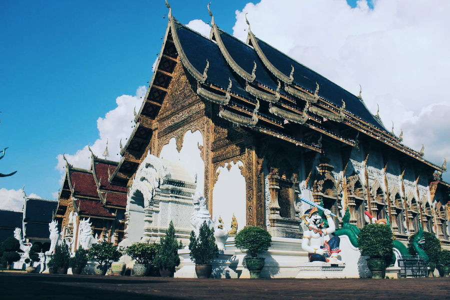 Religion Travel Destinations Travel Cultures Architecture Thailand Temple Chiang Mai | Thailand Temple Architecture