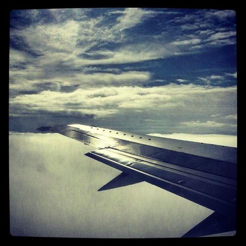 Window Seat Wingseat Plane wing aeroplane instacool photooftheday tweegram holiday austria skiing snowboarding salsburg zugspitz ehrwald sky clouds blue fly flying thehighlife high goodtimes