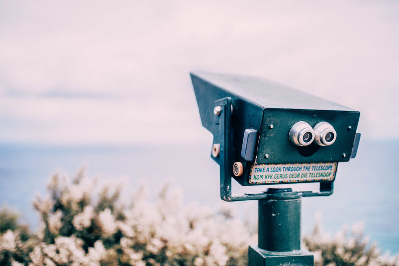 Binoculars Lookout Lookout Mountain Tourism View Let's Go. Together.