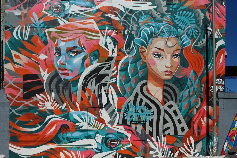 Mural Art Urban Art, Public Art Art And Craft Representation Creativity Multi Colored Human Representation Male Likeness