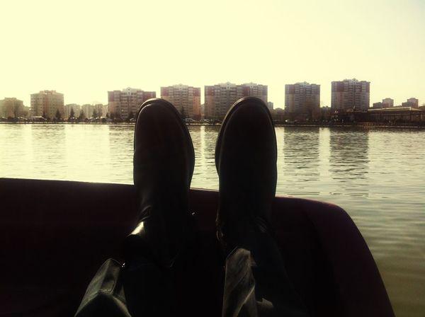 Taking Photos Enjoying Life Hi! Relaxing Life OpenEdit Lake View